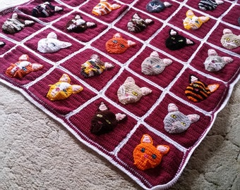 cat lover's afghan