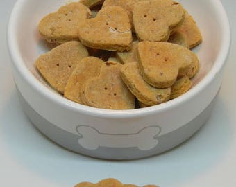 Bacon Cheeseburger Handmade All Natural Dog Treat Biscuits Made With Premium Whole Food Ingredients from Prince Edward Island