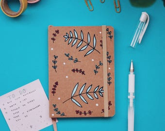 Floral A6 Notebook