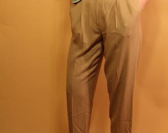 Vintage Express Compagnie Internationale Camel Trousers