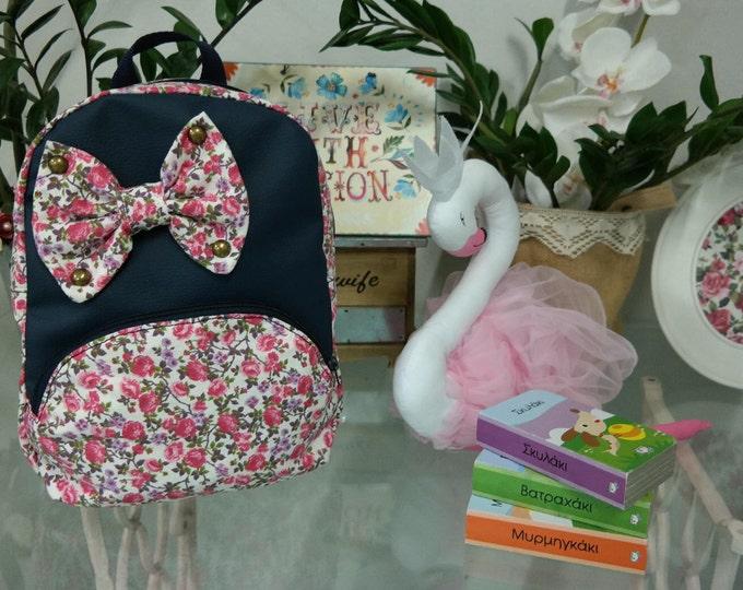 Baby School Alice Floral Backpack