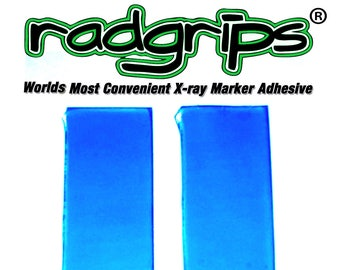Xray Marker Washable adhesive RADGRIPS 1 set (2 pieces)