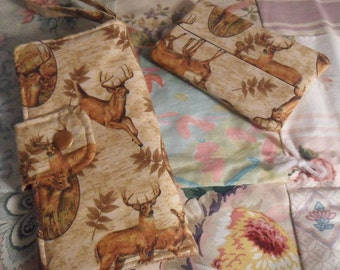 Deer Wallet and Tissue Cover
