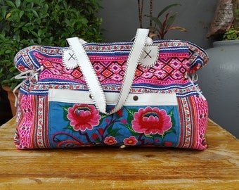 Gypsy bag Hippy Boho Bag vintage tribal fabric handmade Casual Chic