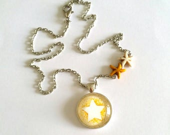my little stationery creation necklace Starfish necklace