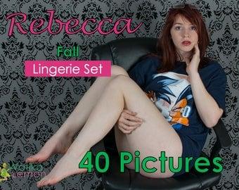 Rebecca - Fall - (Mature) - 40 Pictures