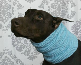 XL Solid Color Slouchy Neck Warmer for Dogs