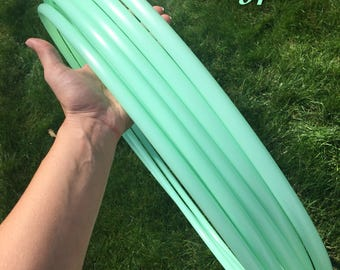 Mint 5/8 polypro hula hoop