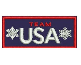 USA Team Olympic Patch-Team USA Patch-United States Olympic Team Patch