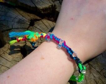 Woven Neon Bracelet