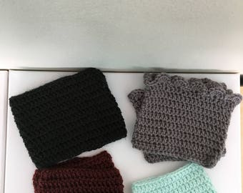 Crocheted Bootcuffs