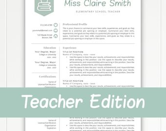 teacher resume template for word pages teacher template teacher cv resume for