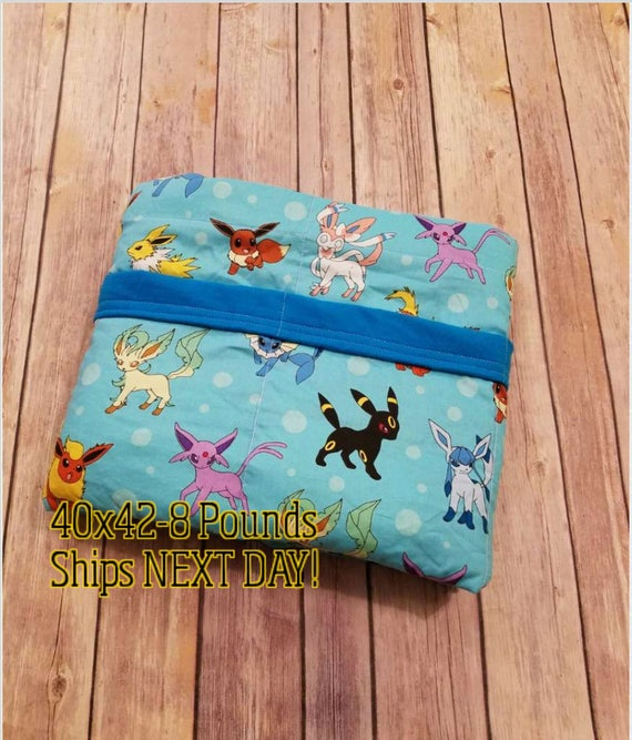 Video Game, 8 Pound, WEIGHTED BLANKET, Ready To Ship, 8 Pounds, 40x42 for Autism, Sensory, ADHD, Calming