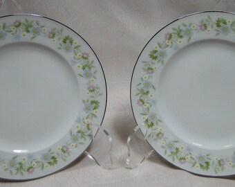 "TWO Johann Haviland Bavaria Forever Spring Bread Plates 6"" Set of 2 EXCELLENT!"