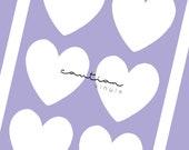 Hearts Stencils | 2 Columns | Swatch Stencils