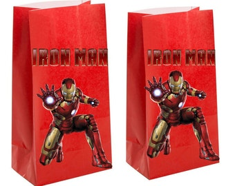 Iron Man Party Favor Bag~ iron man Party Inspired Decorations & Decor