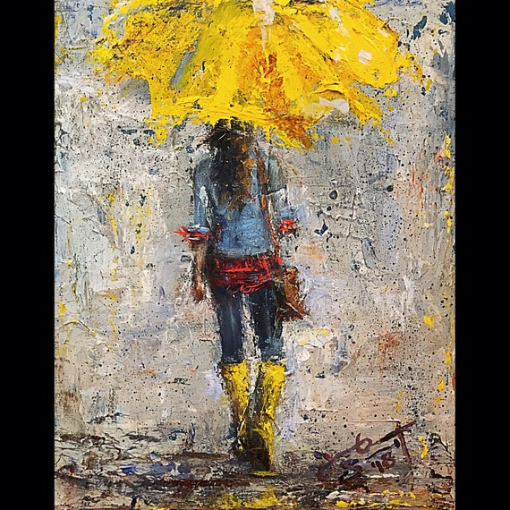 "Peace in Christ Umbrella Girl Prints - 7""x5"" & 10""x8"""