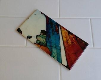 Bathroom Custom Feature Tiles - MineralPhotos - Art and Science