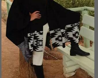 Womans handmade shawl.  100% Alpaca wool made in Patagonia Chile
