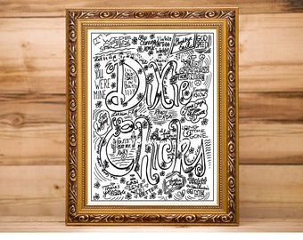 Dixie Chicks, Coloring page, Ladies of Song, digital download, coloring download, Adult coloring, song titles, Women in music