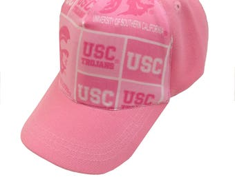 Pink USC  Ball Cap/Toddler Size