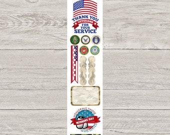 DECODAYS Veterans Day Planner Stickers