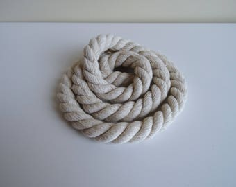 Natural White Cotton Rope