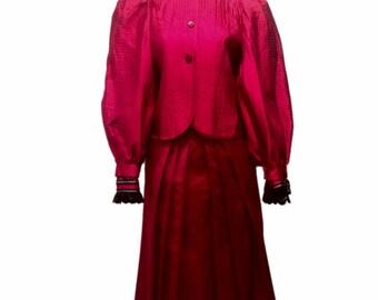 Martieri Blouse, Skirt & Jacket Set
