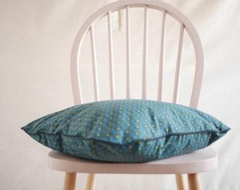 fan pattern pillow, cushion, Fishscale Japanese pillow cushion