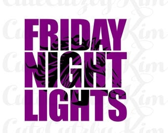 Mustang Friday Night Lights svg, dxf, jpg, png, cutting file, cricut file, silhouette file