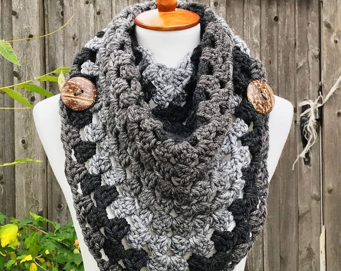 Featured listing image: The Chloe Triangle Scarf (Teenage/Adult)