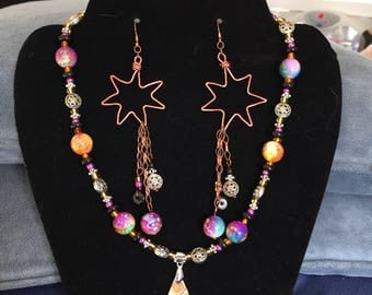Fun in the Sun Necklace and Earrings