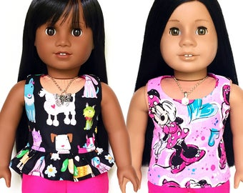 Doll Shorts, Fuchsia Pink, Hot Pink, Summer, Fits dolls such as American Girl, 18 inch Doll Clothes