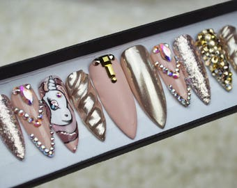 Press on nails etsy prinsesfo Image collections