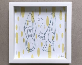 Wingtip Shoe Art Print