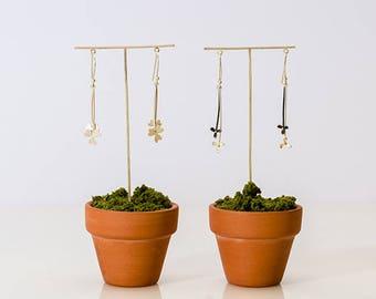 Clover Earrings & Flower Earrings
