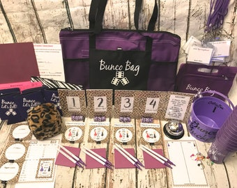 16 Person PREMIUM Bunco Party Game Starter Kit: All the bells and whistles!!! Instructions and tips on running your Group.