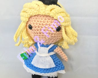 Alice in Wonderland - Chibi Doll Amigurumi