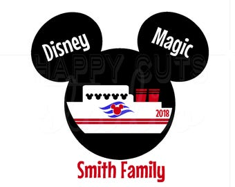 Disney Cruise Mickey Minnie Disney Magic Dream Personalized Disney Iron on Decal Vacation Matching Family Dad Mom Brother Sister 4 Shirt 131