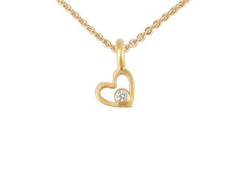 noble gift, high quality golden necklace with genuine diamond