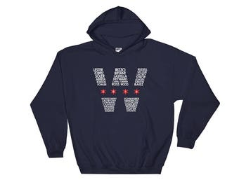World Series Champion Chicago Cubs Roster W Hooded Sweatshirt