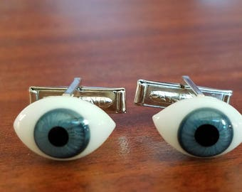 Evil Eye Talisman Cuff Links