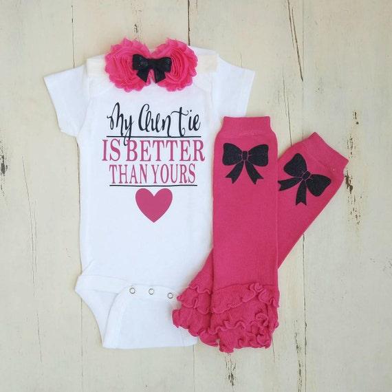 Auntie Onesies Baby Girl Clothes Baby Girl Onesies Aunt