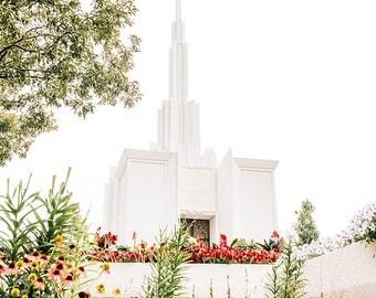 Denver Colorado Temple Flowers