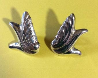 Vintage Mexican Sterling Earrings