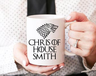 Game Of Thrones Coffee Mug, Custom Game Of Thrones Gifts, Personalized Game Of Thrones Mug, Custom Coffee Mugs, Game Of Thrones Gift