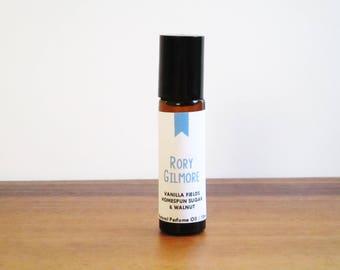 RORY GILMORE / Vanilla Fields Walnut & Homespun Sugar / TV Inspired / Gilmore Girls Collection / Roll-On Perfume Oil