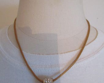 cord and Bead Necklace