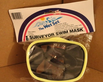 Vintage Surveyor Swim Mask