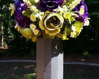 Silk Flower Arrangement Silk Artificial Floral Centerpiece Home Decor Artificial Flower Arrangement
